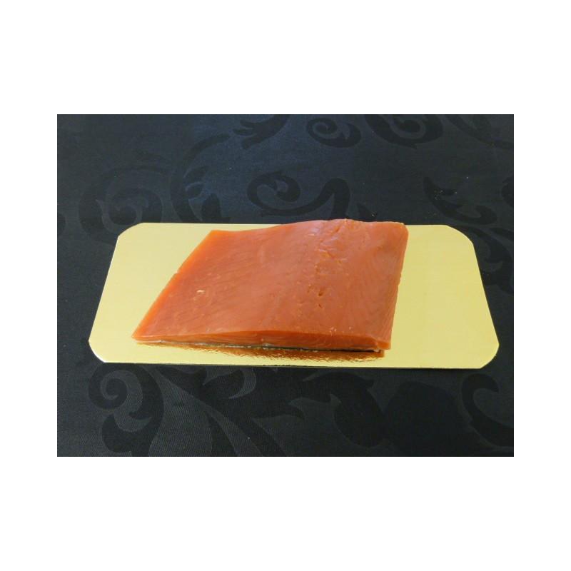 saumon sauvage Argenté d'Alaska fumé - pavé de 280 gr - 99 € TTC/KG