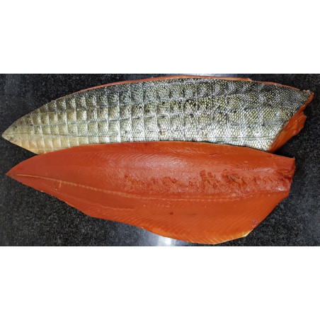 "saumon sauvage royal ""King"" fumé - filet tranché de 1.1 kg"