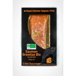 Gravlax de saumon BIO aux...