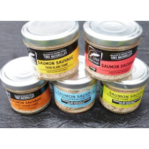 lot de 5 Rillettes