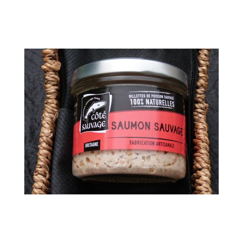 Rillettes de Saumon sauvage