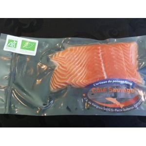 Saumon Bio pavé frais
