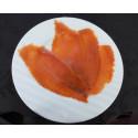 saumon sauvage Argenté d'Alaska fumé en tranches - 99.00 €/kg ttc